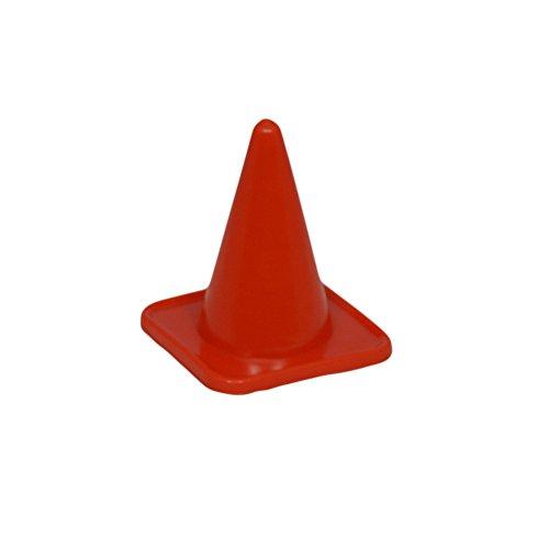 Fitness Health FH Pro 4'Marcador Conos de tráfico Deportes Equipo de fútbol Rugby Cono de señalización, Rojo