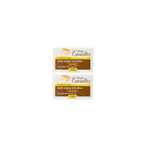 ROG ? Cavaill ? extra-mild superfatted Soap Milk and Honey 2 x 250 g by ROG ? Cavaill ?