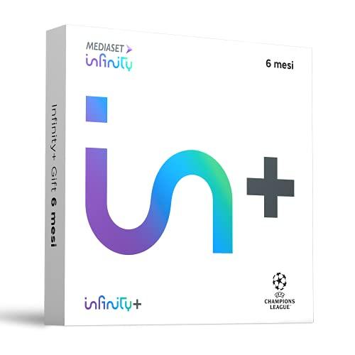 Infinity+, Cofanetto Regalo per 6 mesi, il Meglio di Cinema, Serie TV, Cartoni Animati ed il Grande Calcio della UEFA Champions League - Gift Box
