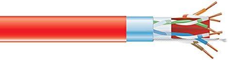 Black Box CAT6A 650-MHz Solid Bulk Cable Plenum F CMP 100 Department Large discharge sale store RD UTP