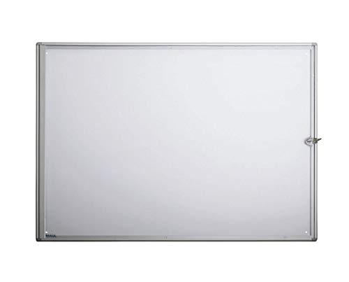 MAUL, Teca Ultra Sottile per 8 Fogli A4, Alluminio (Alu)
