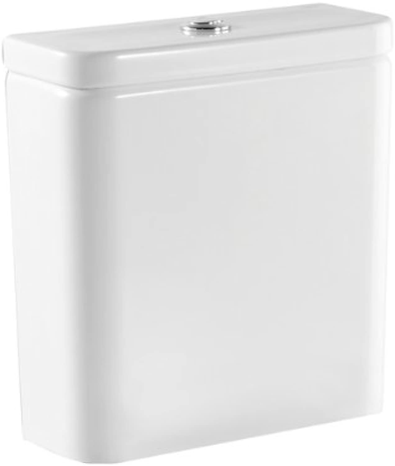 Roca 34147C000 White The Gap Close-Coupled Push Button Cistern Only,