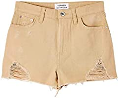TERRANOVA Shorts con Strappi Donna