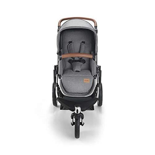 Carrinho de Bebê Jet 3 Rodas Cinza Litet - BB680