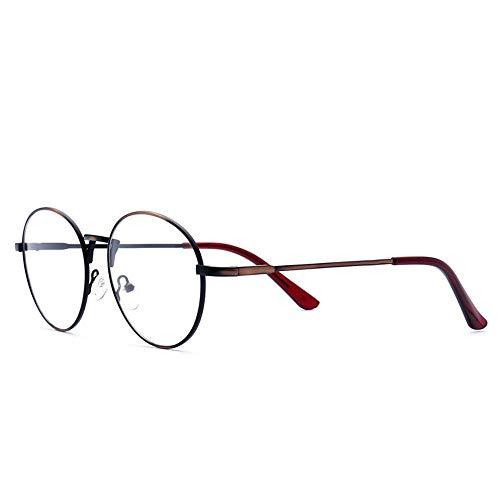 P-WEIAN bril bril frame vierkant frame metaal geborsteld bril lijst trend niveau spiegel unisex