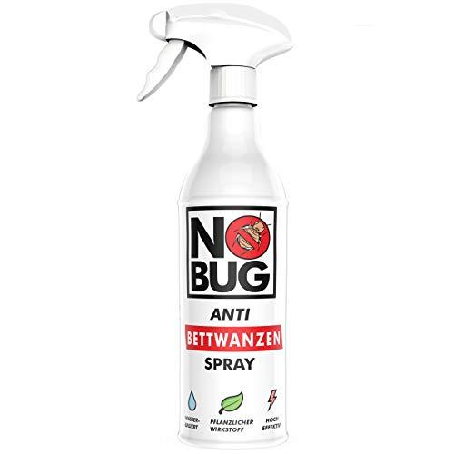 NoBug Bettwanzen Spray 500ml   Mittel gegen Bettwanzen   Zuverlässige Bettwanzen Bekämpfung   Bettwanzenschutz für Matratzen und Betten   Anti-Bettwanzen-Mittel biologisch abbaubar