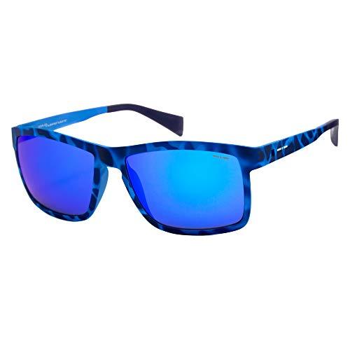 italia independent 0113-023-000 Gafas de sol, Azul, 57 para Hombre