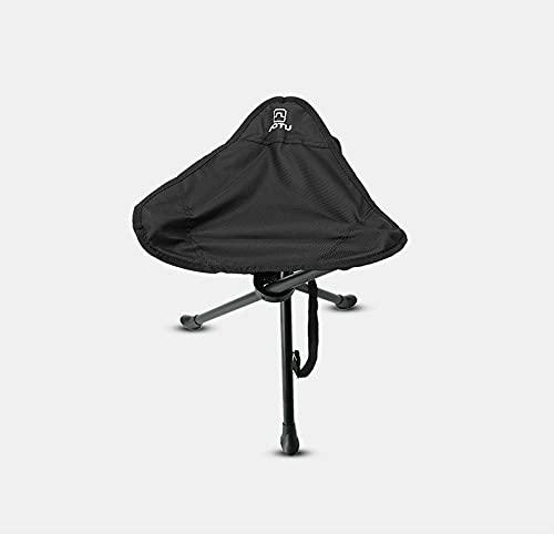 Bump Silla plegable ligera al aire libre, taburete triángulo extra grande sillas de playa bajas, adecuado para viajes, picnic, parques, playas, etc. (puede soportar 100 kg)