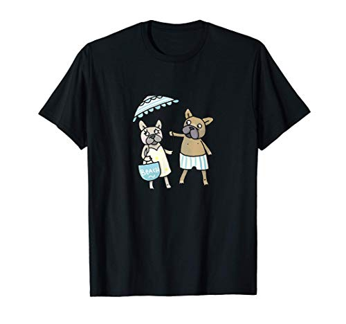 French Bulldog - das Bulldog Dog Hunde T-Shirt