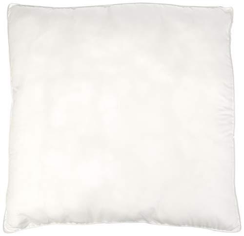 Amazon Basics - Almohadas de relleno sintético con funda de microfibra, 80 x 80 cm, 2 unidades