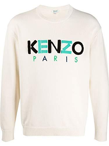 Luxury Fashion | Kenzo Heren FA55PU2173LC03 Beige Katoen Truien | Lente-zomer 20