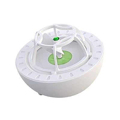 Artificial Wave Design Mini USB Dishwasher Multifunction Portable & Countertop Smart Dishwashers for Dishes, Vegetable Fruit Washing (Green)