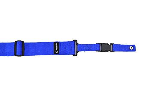 DiMarzio DD2200BK Shoulder Strap blue