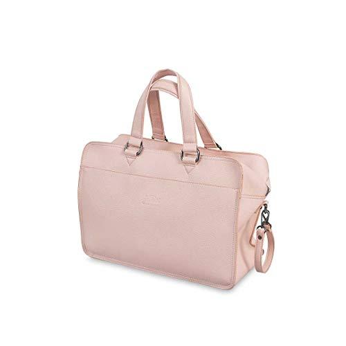 Jollein Comfortbag Babytragetasche, 3/5 Punkte, Wickeltasche, Liv Pink, von Liv Pink