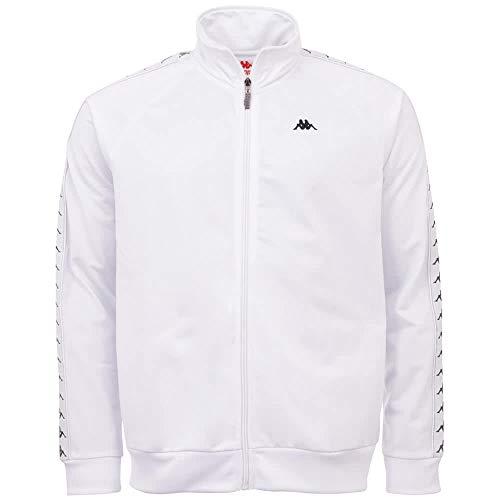Kappa Herren GAMBRU Sweatshirt, 11-0601 Bright White, L