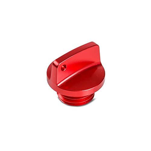 CHENWEI- M20 * 2.5 Enchufe de llenado de Aceite para Honda CBR 250RR 600RR 1000RR CR CRF 125R 150R 250R 450R para Yamaha para Ducati (Color : Red)