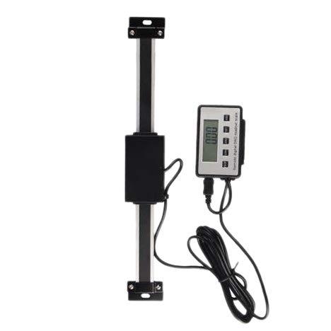 Sonline Escala de Lectura LCD Grande DRO Digital Remota de 8 Pulgadas Rango de Medida 0-8 Pulgadas Vertical para Torno Bridgeport Mill