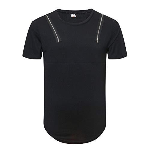 T-Shirt Für Herren,Rundhals Kurze Ärmel T-Shirt Trend Persönliche Kurzarm Sweatshirts Top Bluse Mode Pullover Resplend