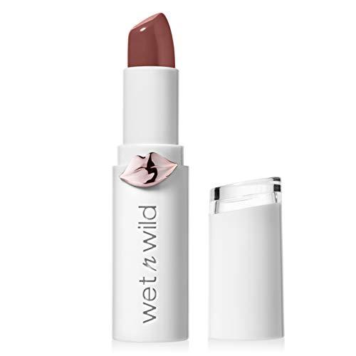 Wet N Wild Lippenstift - Megalast Lipstick mit intensiv glänzenden Farben, Mad for Mauve