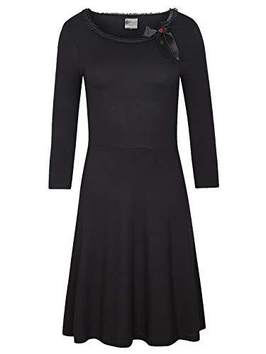 Pussy Deluxe Classic Dress schwarz, Größe:S