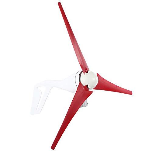 Kit de generador de viento Molino de viento eléctrico de 3 palas, 630 mm Nylon 300W 300W Generador de viento, NE-300S3 para equipos de viento domésticos Equipos industriales Equipos(24V)