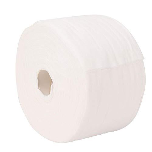 Almohadillas de algodón para el rostro, Toalla cosmética de algodón, Toallitas húmedas de doble uso de 50 m, Limpieza facial para desmaquillar