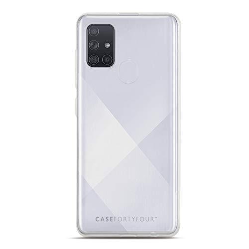 Case FortyFour No.1 para Samsung A21s - Funda delgada y ligera para teléfono - transparente