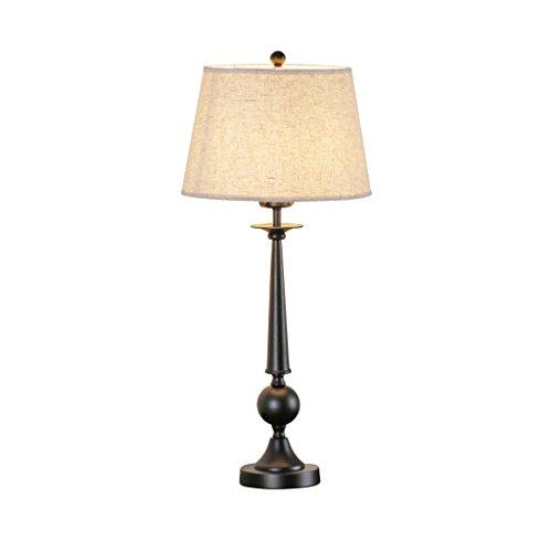 Bonne chose lampe de table American Village Retro Salon Iron Chambre à coucher Chambre à coucher Etude Lampe de bureau Modern Minimalist Creative Lighting