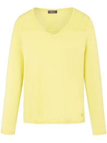 BASLER Damen Pullover mit Strukturmix und ¾-Ärmeln