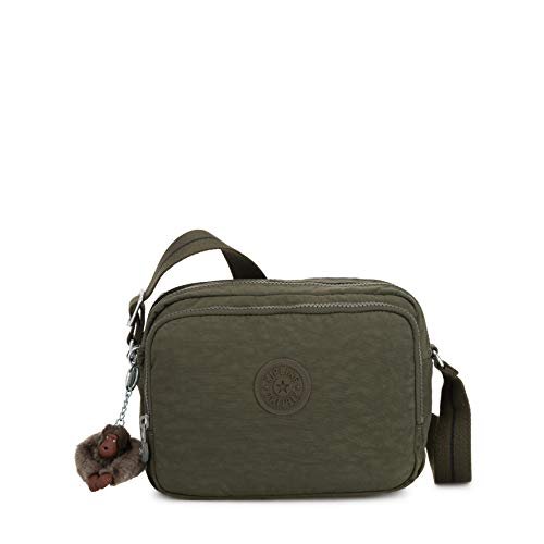 Kipling Silen - Borse a tracolla Donna, Verde (Jaded Green C)