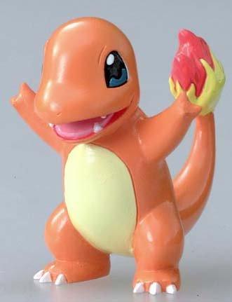 "Pokemon Charmander[MC-007] Monster Collection ~2"" Figure (Japanese Imported) - Nintendo [689201]"