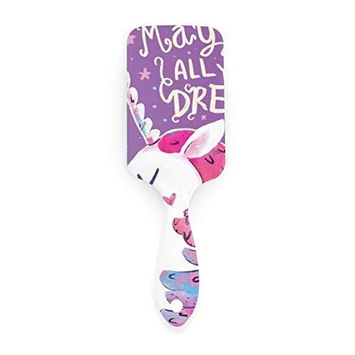 AOOEDM Air cushion comb Cepillo de pelo para hacer realidad todos tus sueños con peines con cojín de aire para belleza de niñas