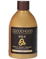 Cocochoco Professional Gold Premium Keratine Hair Treatment, 250 ml