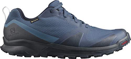 Salomon Herren Trail-Running-Schuhe, XA COLLIDER GTX, Farbe: Blau (Dark Denim/Ebony/Navy Blazer), Größe: EU 49 1/3
