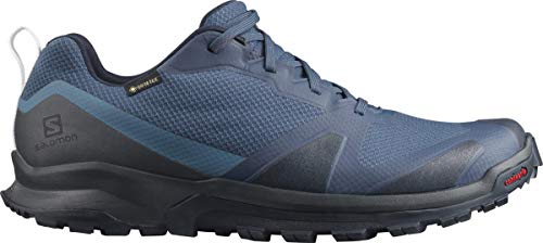Salomon XA COLLIDER GTX, Zapatillas de Trail Running Hombre, Color: Azul (Dark Denim/Ebony/Navy Blazer), 40 EU