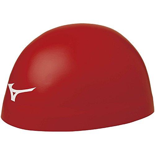 MIZUNO(ミズノ) スイムキャップ 競泳 水泳帽 ゆったりタイプ GX-SONIC HEAD EZ FINA(国際水泳連盟)承認 N2JW6004 レッド