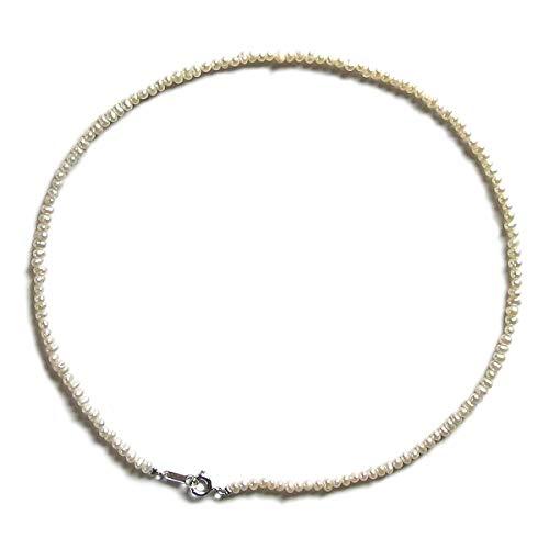 神戸宝光堂 さりげなく使える小さな淡水真珠チョーカーネックレス (40)