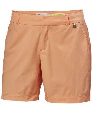 Helly Hansen Crew Shorts-34073 Shorts Femme, Orange, Taille 34