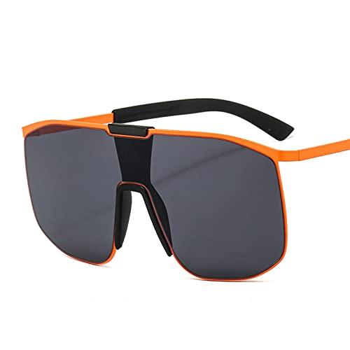 LUOXUEFEI Gafas De Sol Gafas De Sol De Gran Tamaño Gafas De Sol Con Montura Grande Para Mujer