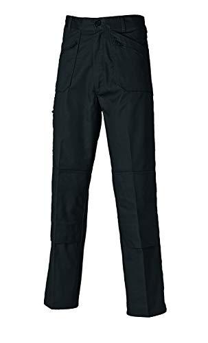 Dickies Redhawk Action Pantalones de trabajo, Hombre, Negro (Black), 42R (Talla del fabricante: 32R)