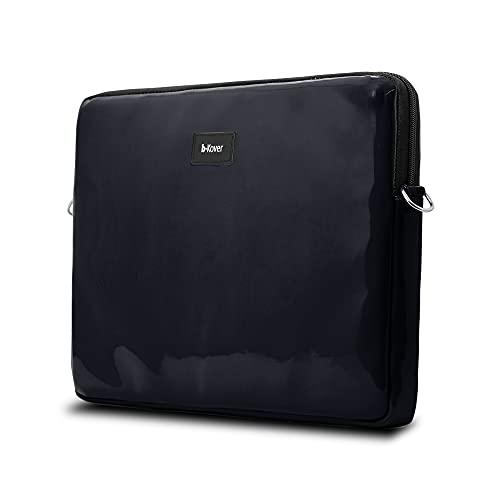 b-Kover Funda para portátil 15,6 de Pulgadas, Azul Impermeable, Ideal para IR al Trabajo, la Escuela o de Viaje, Fabricado en España