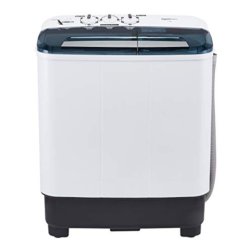 AmazonBasics 7 kg Semi Automatic Washing Machine (with Heavy wash...
