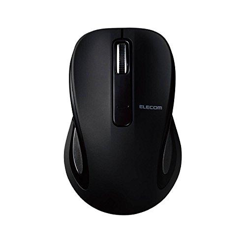 エレコム マウス Bluetooth (iOS対応) Sサイズ 小型 3ボタン BlueLED ブラック M-BT17BBBK
