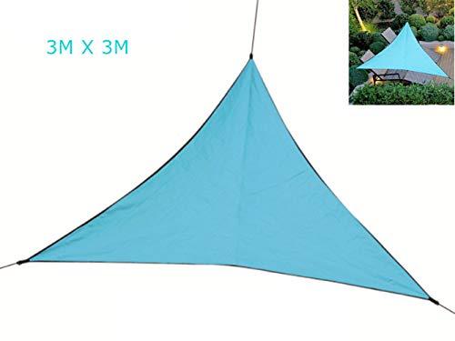 Ombrellone Impermeabile, Tenda da Sole Ispessita, Tenda UV, Tenda da Sole Pieghevole Portatile per Viaggi All'aperto (S,Blue)