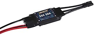 Predator ESC 50A Brushless Speed Controller (XT60 Plug, 430mm Cable) for 64mm EDF F-18 / F-35 / F-15