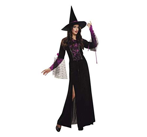 My Other Me Me Me - Bruja Halloween Bruja Disfraz, Color Púrpura, M/L Fun Company 200198