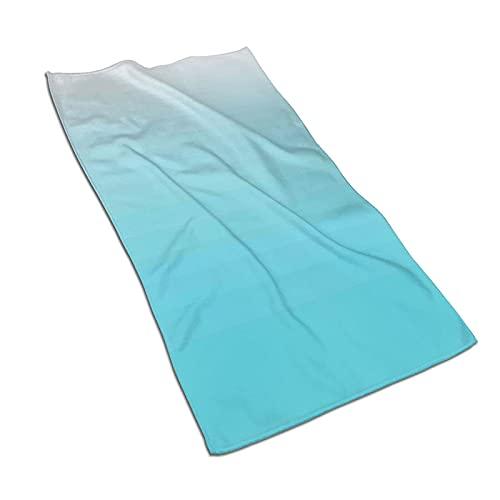 Toallas de playa suaves, diseño náutico del paisaje de la naturaleza serenidad, toalla de baño decorativa de secado rápido para baño, gimnasio, yoga, spa, 27.5 x 55 pulgadas estilo6