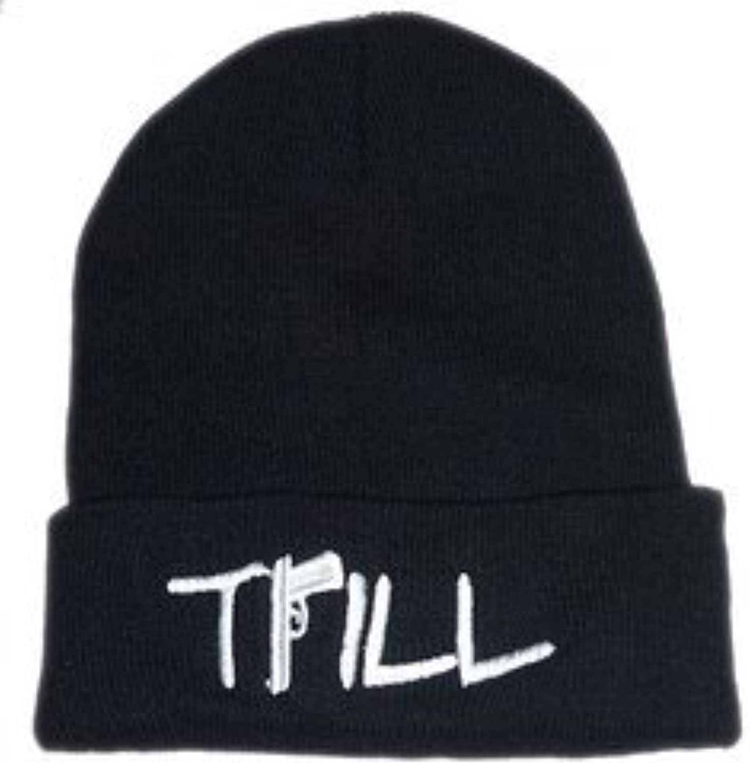 Trill Beanie (Black with White Logo) by Admirable