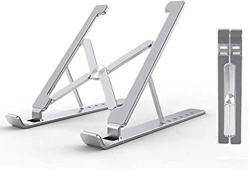Fold Laptop Stand, Laptop Riser, 6 Gears Adjustable Aluminum Laptop Cooling Stand, For MacBook, 10'~15.6' Notebook/Tablet Ergonomic Holder