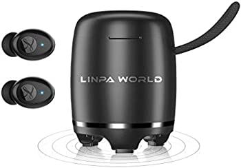 Linpa World 2-in-1 Bluetooth 5.0 Earbuds with Speaker Combo